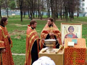 Молебен в день вмч. Георгия, 2005